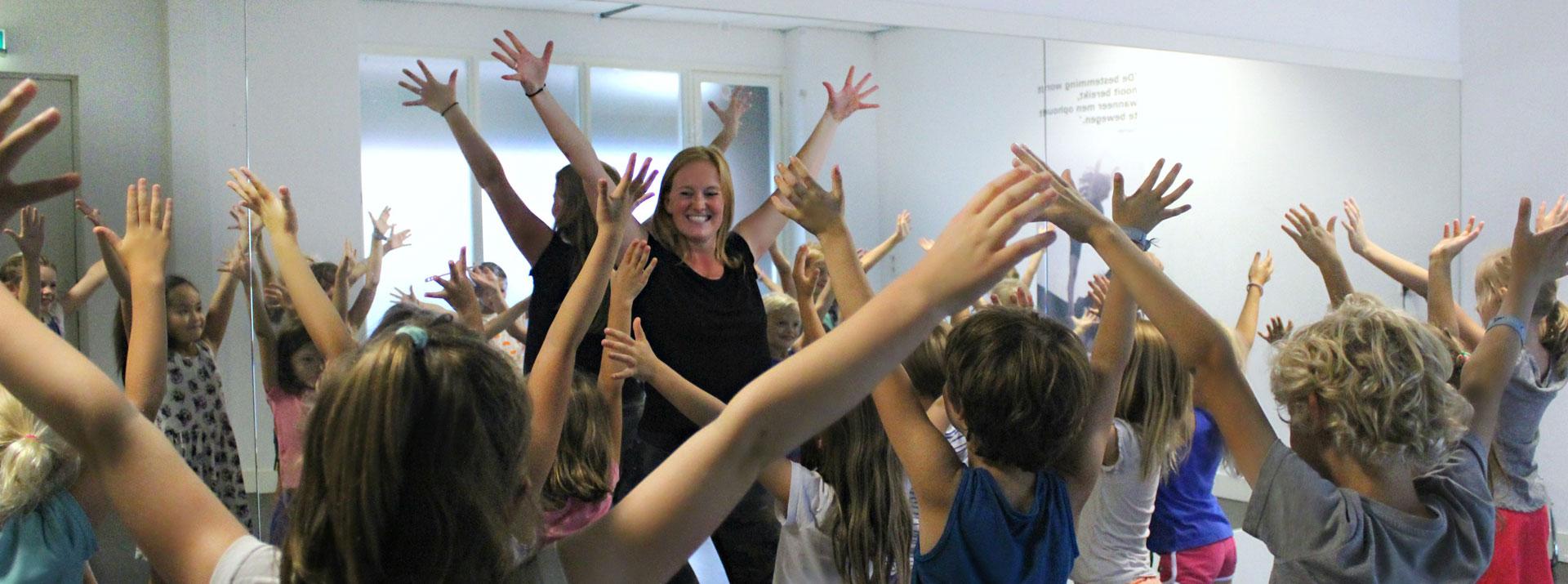 Dansworkshops voor scholen,<br> kinderdagverblijven en kinderfeestjes